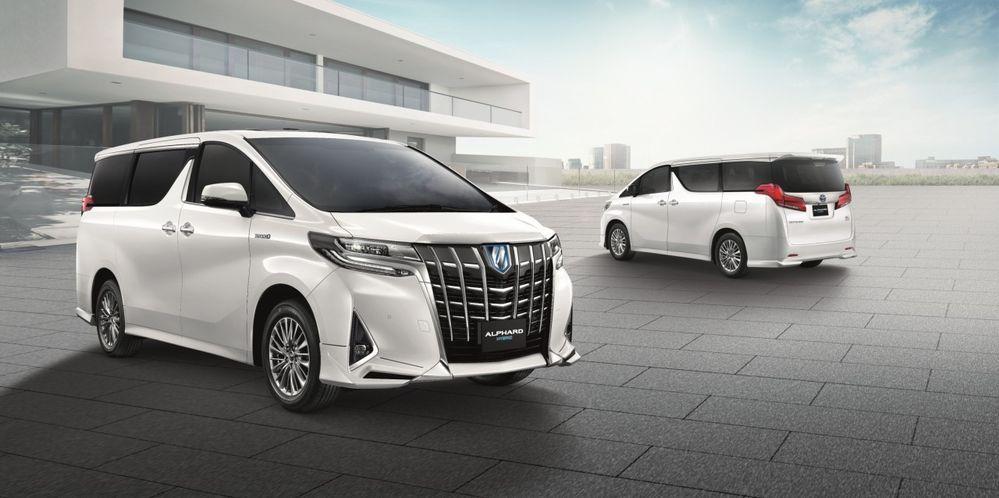 [BIMS2018] เปิดตัวอย่างเป็นทางการ New Toyota Alphard & Vellfire โฉมใหม่ ขุมพลังV6 3.5 ลิตร ใหม่ เคาะราคา 3.809 - 5.429 ล้านบาท