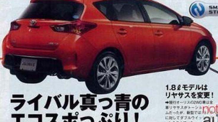 ภาพหลุด Toyota Auris โฉมใหม่ รุ่นปี 2013 ก่อนการเปิดตัวในเดือนกรกฎาคมนี้