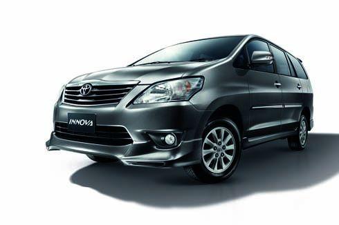 Toyota INNOVA 2013 อินโนว่าปรับปรุงใหม่ ในราคาเริ่มต้นที่ 849,000 บาท