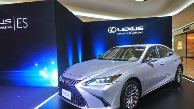 NEW Toyota Lexus ES เจนเนอเรชั่นที่ 7 เสริมความเฉียบคมให้เข้ากับความหรูหรา