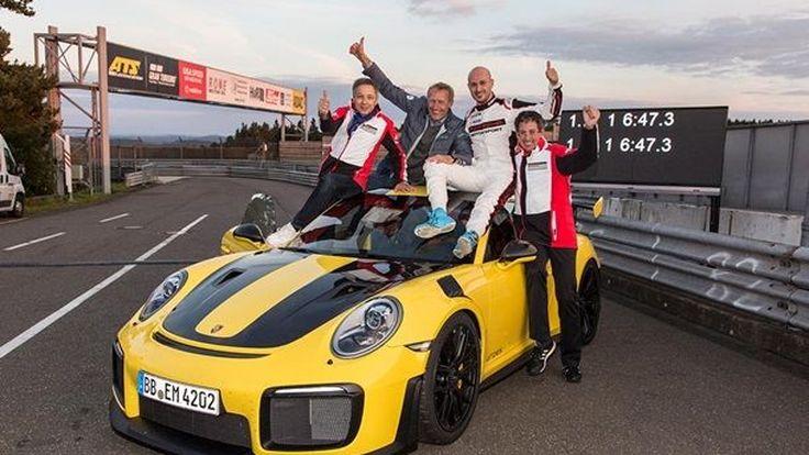 ปอร์เช่จารึกสถิติแห่งความเร็วบนสนาม Nürburgring Nordschleife