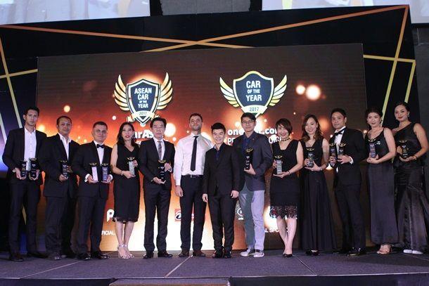 ไอคาร์ เอเชีย ประกาศผลผู้ชนะรถยนต์ขวัญใจมหาชนในไทย ฮอนด้าคว้า 8 รางวัล ส่วน Gold Awards ตกเป็นของ เมอร์เซเดส-เบนซ์