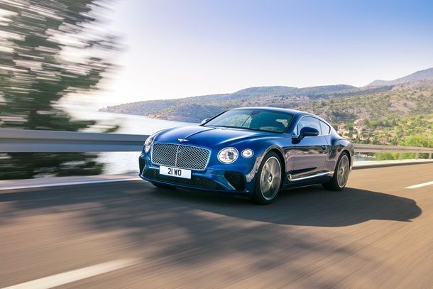 The New Bentley Continental GT ฉลองยอดขายทะลุเป้า ในงานมหกรรมยานยนต์ ครั้งที่ 34
