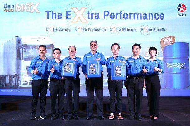 คาลเท็กซ์ เปิดตัวผลิตภัณฑ์น้ำมันเครื่องคาลเท็กซ์ เดโล่ 400 MGX SAE 15W-40