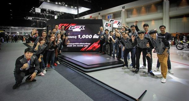 GPX คว้าอันดับ 1 ยอดจองในงาน Motor Expo 2016