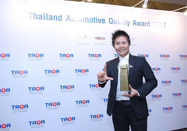 ฟิล์มกรองแสงลามิน่า คว้ารางวัลธุรกิจยานยนต์ TAQA Awards ต่อเนื่องเป็นปีที่ 8