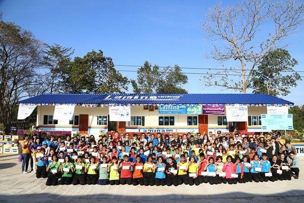 """ฟิล์มกรองแสงลามิน่า เดินหน้าโครงการเพื่อตอบแทนสังคมต่อเนื่องปีที่ 17 กับ """"ลามิน่าสานฝันเด็กไทยได้เล่าเรียน"""""""