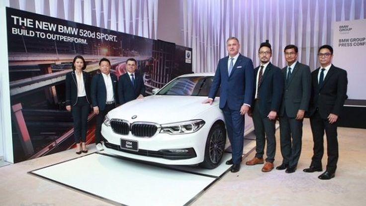 BMW Group Thailand เปิดตัวโปรแกรมบริการหลังการขายรูปแบบใหม่ พร้อมเปิดตัว BMW 520d Sport รุ่นประกอบในประเทศ