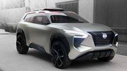 นิสสันเผยโฉมรถยนต์ต้นแบบครอสโมชัน (Xmotion) ในงาน 2018 North American International Auto Show