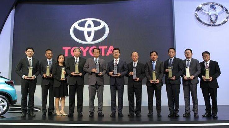 โตโยต้า รับ 11 รางวัล จาก TAQA: Thailand Automotive Quality Award 2017