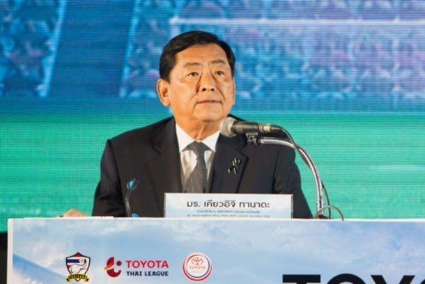 โตโยต้า ให้การสนับสนุนฟุตบอลทีมชาติไทยทุกรุ่นและการแข่งขันฟุตบอลลีกอาชีพทุกระดับ ระยะเวลา 4 ปี