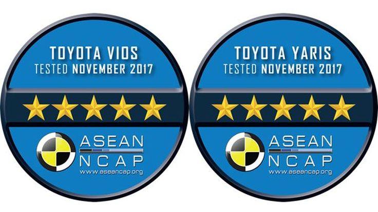 วีออส-ยาริส ผ่านมาตรฐาน ASEAN NCAP 5 ดาว