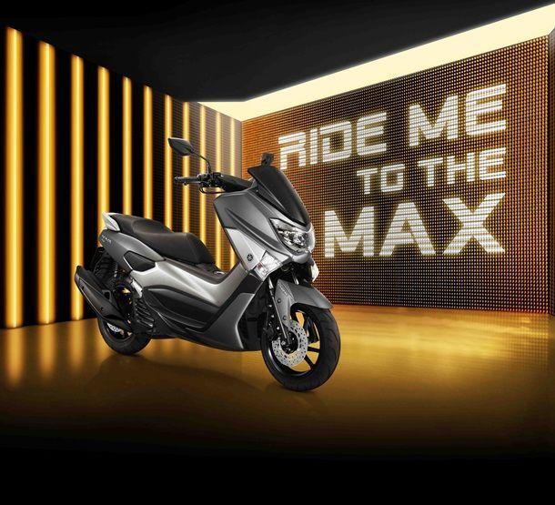 Yamaha NMAX มาพร้อมสีใหม่ สกู๊ตเตอร์สปอร์ตเมติก 155 ซีซี กับค่าตัวที่ 8 หมื่นบาท
