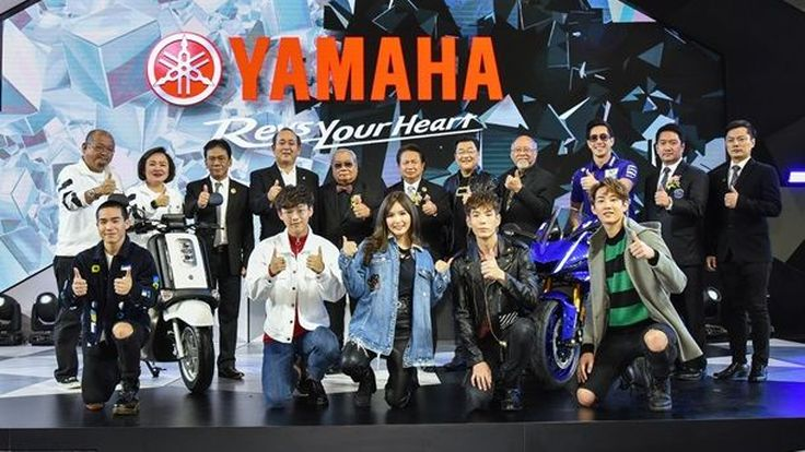 ยามาฮ่าเปิดตัว Yamaha QBIX ครั้งแรกในโลก และ Yamaha YZF-R6 ด้วยราคาสุดเร้าใจ
