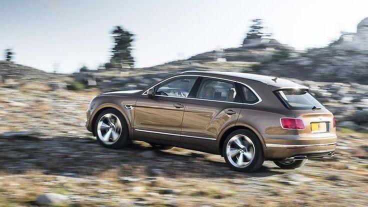 รถเอสยูวีรุ่นต่อไปของ Bentley อาจเป็นรถพลังงานไฟฟ้า