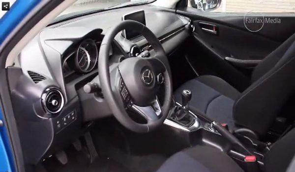 หลุดเต็มตา! ภาพห้องโดยสาร Mazda 2 เจนเนอเรชั่นใหม่