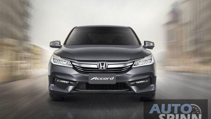 "Honda Accord / CR-V รุ่นใหม่จะพัฒนาบนแพลทฟอร์ม ""Civic"" พร้อมวางขุมพลังเทอร์โบ"