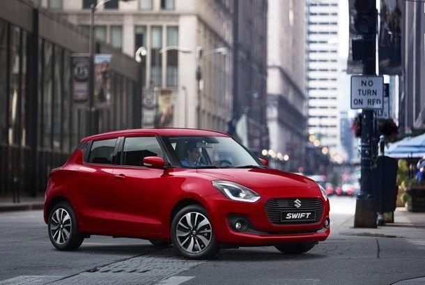 All-New Suzuki Swift Sport รุ่นใหม่จะมาพร้อมน้ำหนักตัวถังรวมเพียง 870 กิโลกรัม เท่านั้น !!