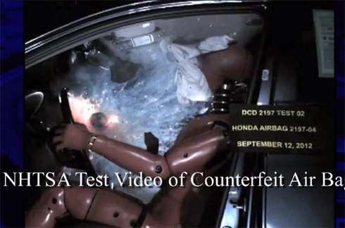 เตือนภัยถุงลมนิรภัยปลอมระบาดในสหรัฐฯ เป็นอันตรายต่อผู้ขับขี่และผู้โดยสาร