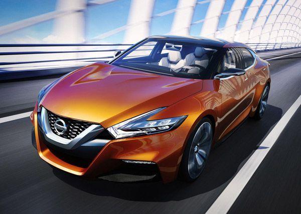 """สวยเพรียว Nissan เปิดตัวรถต้นแบบ """"Sport Sedan"""" ใหม่"""