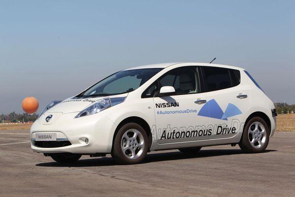 Nissan ประกาศลั่น เปิดตัวรถไร้คนขับหลายรุ่นภายในปี 2020