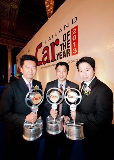"Nissan รถยนต์คุณภาพ คว้า 3 รางวัล ""CAR OF THE YEAR 2013"" - Sylphy, Almera, Teana"