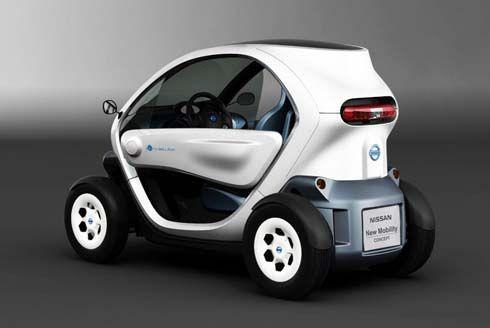 Nissan เผยโฉม New Mobility Concept รถจิ๋วพลังงานไฟฟ้าแฝดเหมือน Renault Twizy