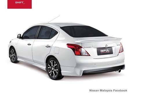 Nissan Almera จ่อเปิดตัวในมาเลเซีย พร้อมชุดบอดี้คิท Impul