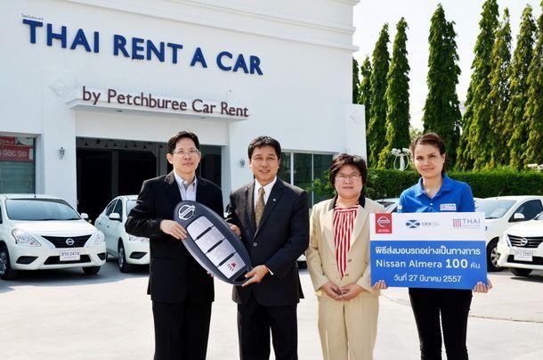 Nissan Almera  Hot ในวงการรถเช่า  สั่งเพิ่ม 100 คัน รับเทศกาลท่องเที่ยว