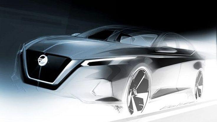 Nissan เปิดภาพทีเซอร์ Altima ใหม่ ก่อนเปิดตัวจริงปลายเดือนนี้