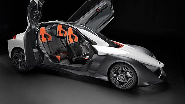 Nissan BladeGlider รถพลังไฟฟ้าต้นแบบ อีกย่างก้าวสู่การผลิตจริง