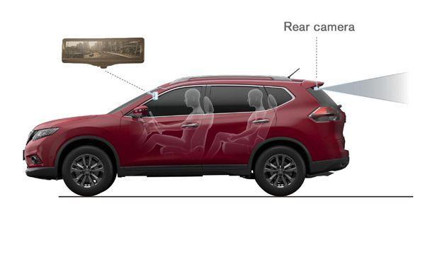 "Nissan เปิดตัวกระจกมองหลังดิจิตอล ""Smart Rearview Mirror"" ขายจริงช่วงสิ้นปี"