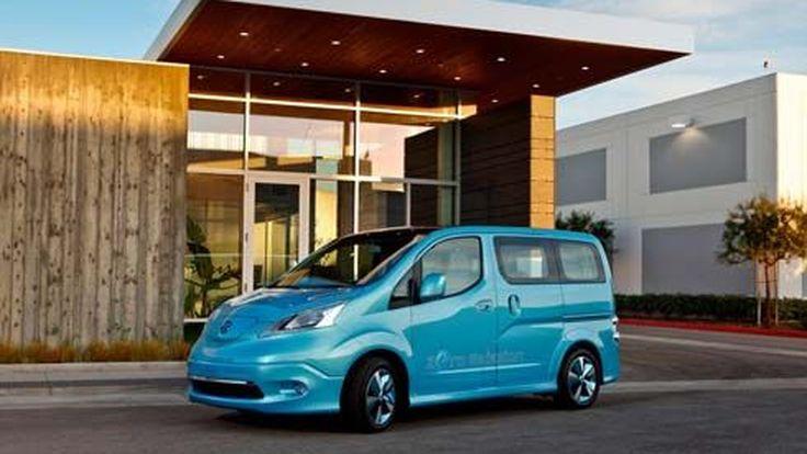 Nissan e-NV200 Concept มินิแวนไฟฟ้า ใช้พื้นฐาน Leaf ต่อยอดมาจาก NV200