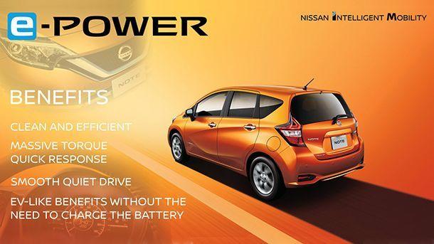 เปิดข้อมูล e-Power ระบบขยายระยะทางขับเคลื่อนของ Nissan