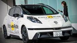 น่าลองใช้! Nissan เปิดตัวบริการแท็กซี่ไร้คนขับในญี่ปุ่น