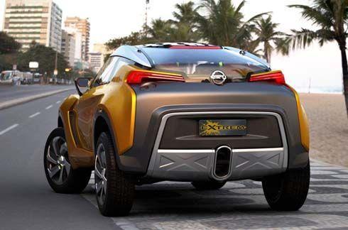 Nissan Extrem Concept ครอสโอเวอร์ 2+2 ที่นั่ง ใหม่ล่าสุด เผยโฉมที่บราซิล