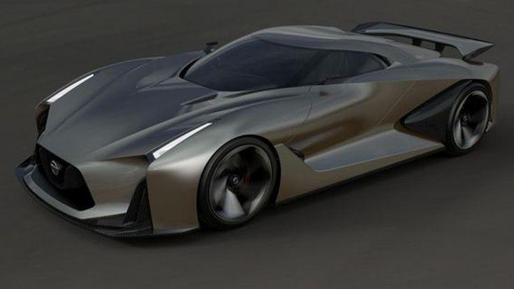 Nissan GT-R เจนเนอเรชั่นต่อไปจะถ่ายทอดจาก Concept 2020 Vision Gran Turismo