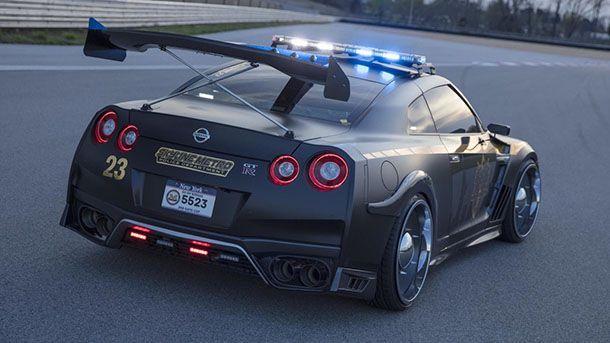 หมดทางหนี! Nissan เผยโฉม GT-R เวอร์ชั่นรถตำรวจไล่ล่าผู้ร้าย