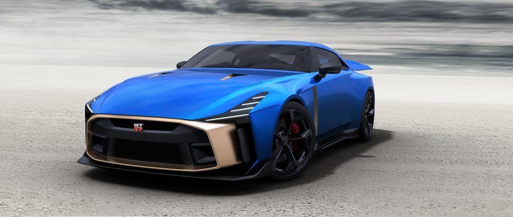 36 ล้านบาท! Nissan GT-R50 รุ่นพิเศษ ผลิตจำกัดเพียง 50 คัน