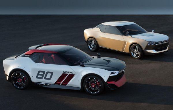 Nissan เปิดตัว IDx Freeflow และ IDx Nismo สองรถต้นแบบ หล่อแนวเรโทร