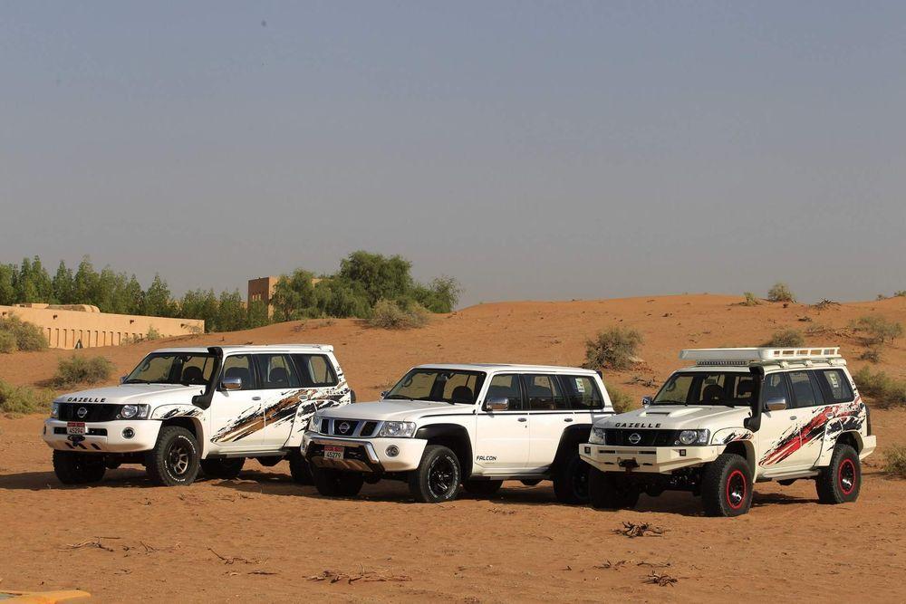 Nissan เปิดตัวรถสายออฟโรด Patrol สามรุ่นในตะวันออกกลาง