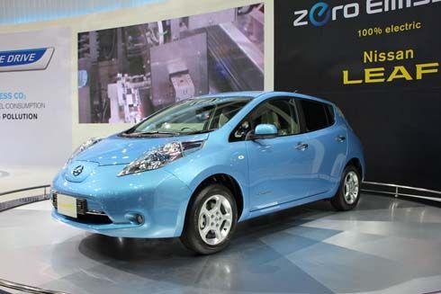 Nissan LEAF รถพลังงานไฟฟ้าราคาดี บุกไทยอวดของที่ 2011 Bangkok Motor Show
