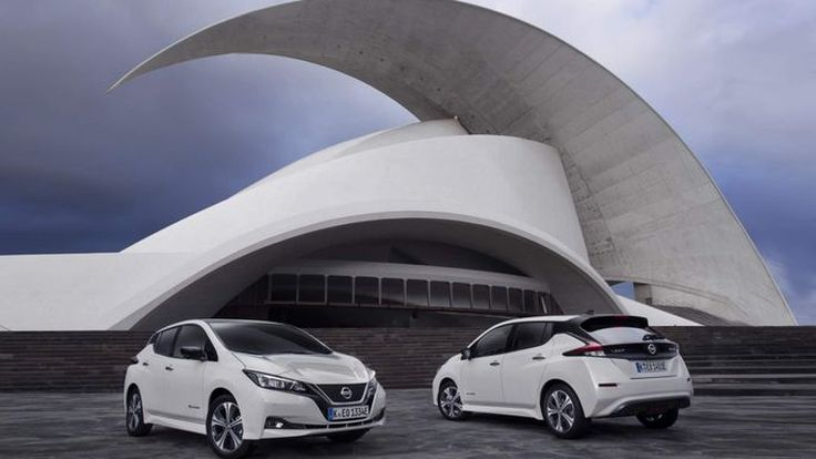 Nissan Leaf ขึ้นแท่นขายดีที่สุดในกลุ่มรถพลังงานไฟฟ้าในยุโรป