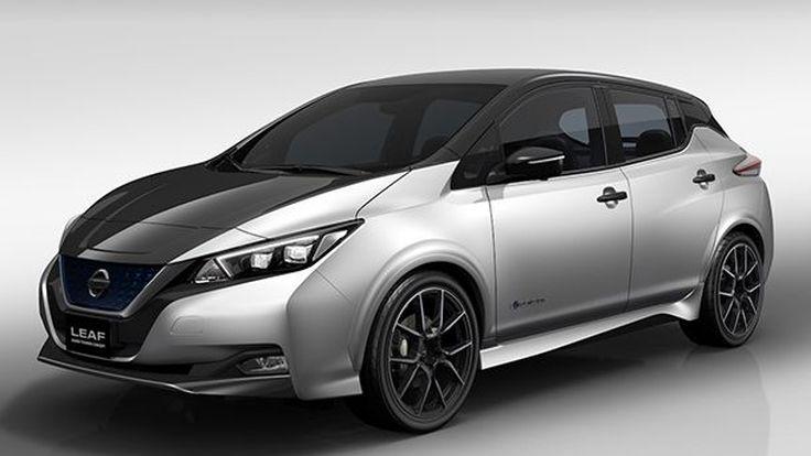 Nissan Leaf Grand Touring Concept นำทีมรถอีกหลายรุ่นโชว์ตัวที่โตเกียว ออโต้ ซาลอน