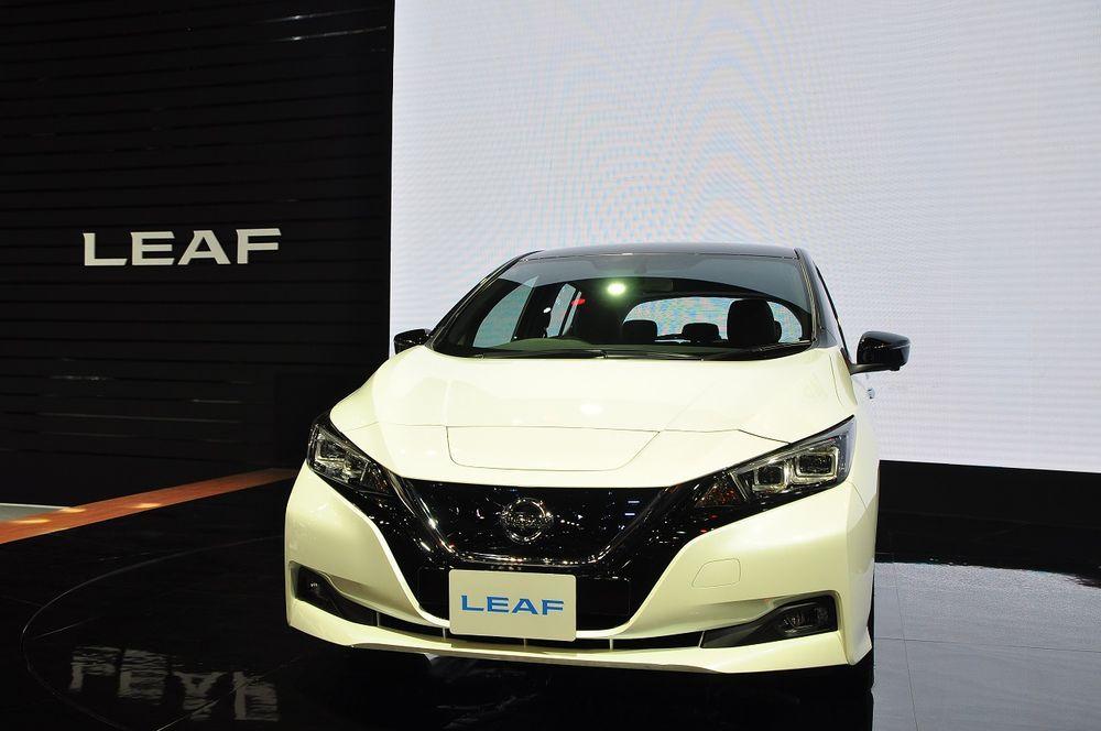 [Motor Expo] Nissan Leaf รถยนต์พลังงานไฟฟ้า กับราคาเปิดตัว 1.99 ล้านบาท