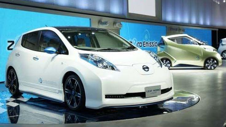 เผยโฉม Nissan Leaf Nismo รถไฟฟ้าแต่งสปอร์ตที่งาน 2011 Tokyo Motor Show