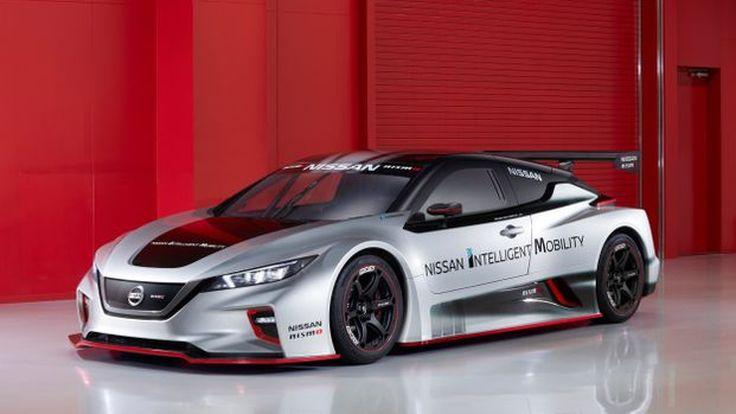all-new Nissan Leaf Nismo RC ลีฟสายซิ่งวิ่งสนาม