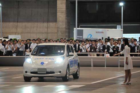 เปิดตัว Nissan Leaf NSC-2015 รถไร้คนขับรุ่นต้นแบบ พร้อมใช้ในปี 2015
