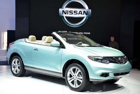 Nissan Murano CrossCabriolet ครอสโอเวอร์เปิดประทุน คิดต่างเพื่อสร้างตลาดใหม่