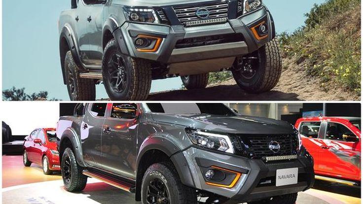 Nissan Navara N-TREK Warrior เหมือนหรือต่างกับออสเตรเลีย